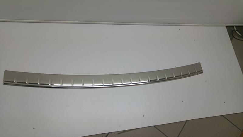 Recambo CT-LKS-1041 Protector de Borde de Carga de Acero Inoxidable Pulido para Dacia Dokker a Partir de 2012 con Reborde Large