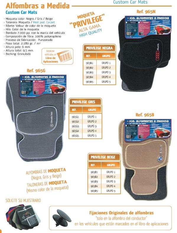 Comprar alfombra moqueta a medida privilege peugeot 206 sw puertas a o 02 a 48 00 206 sw - Alfombras peugeot 206 ...