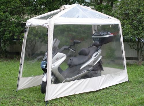 Comprar garaje portatil para moto 110 x 270 x 190 cm a 331 for Garaje portatil