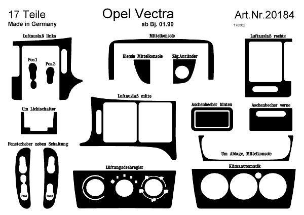 comprar laminas autoadhesivas prewoodec opel vectra b a u00f1o