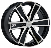 DP6 BLACK / MACHINED FACE