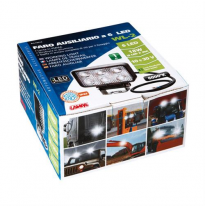 FARO AUXILIAR RECTANGULARBLANCO 6 LED 10/30V 18W