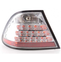 Kit De Pilotos Traseros Led Bmw Serie 3 Coupe Modelo E46  99-02 Cromado Fk Automotive