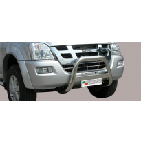 Defensa Delantera Acero Inox Isuzu D-Max Road Map D.C.06>