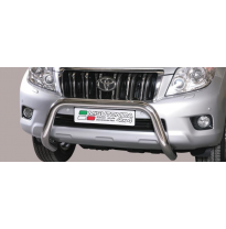 Defensa Delantera Acero Inox Homologacion Ec Toyota Land Cruiser 150 14> (Suitable With Camera & Park Sensors) Diametro 76mm Mis