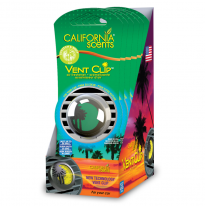 California Scents Vent Clip Display 6 Pieces Emerald Bay