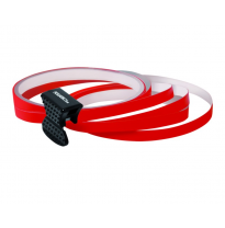 Foliatec PIN-Striping rim design rojo - Ancho = 7mm: 4x2,15 meter