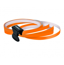 Foliatec PIN-Striping rim design naranja - Ancho = 7mm: 4x2,15 meter