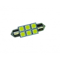 Foliatec Smd-Led Cablight - Ultrablanco 44mm - 6 Smds - 1 Piezas