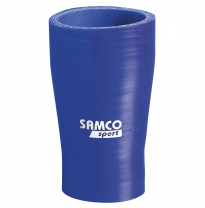 Samco Tubo reductor Azul - Largo 125mm - Ø70>50mm