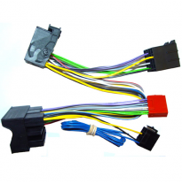 Conector Doble Iso Para Audi A1 2010 >, Seat 2012 >, Skoda 2012 >, Vw. 2012 > , Parrot