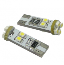 Kit Lamparas Posicion S/C 12v  , 8 Led Smd , Can Bus T10 , 10 X 30 Mm , 2,1 W.  X  9,5 D , Solo Validas Para Competiciones, Circ