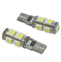 Kit Lamparas Posicion S/C 12v  , 9 Led Smd , Can Bus T10 , 10 X 42 Mm , 2,1 W.  X  9,5 D , Solo Validas Para Competiciones, Circ