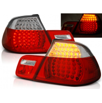 Pilotos Traseros Led Bmw E46 04.99-03.03 Cabrio Rojo/Blanco Led