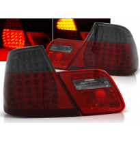 Pilotos Traseros Led Bmw E46 04.99-03.03 Coupe Rojo Ahumado Led