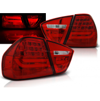 Pilotos Traseros Led Bmw E90 03.05-08.08 Red Led Bar