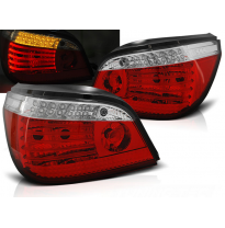 Pilotos Traseros Led Bmw E60 07.03-07 Rojo Blanco  Intermitentes Dinamicos