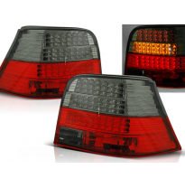 Pilotos Traseros Led Vw Golf 4 09.97-09.03 Rojo Ahumado Led