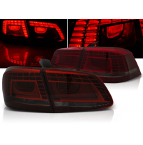 Pilotos Traseros Led Vw Passat B7 Sedan 10.10-10.14 Rojo Ahumado Led