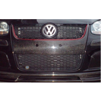 Frontal parrilla carbono   volkswagen - golf 5 03/- 3/5drs