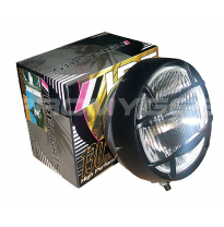 Ipf 700 driving light with grillette (cunetero) redondo -130w juego de 2 faros 700 superrally (driving, redondos, solo uso offro