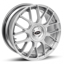 Llanta team dynamics imola hi-power silver 8.5 x 19