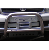 Tata safari big-bar inox 63 mm baja con traviesa tubo homolog cee (bull-face)